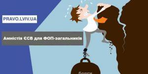 Звільнення від сплати єдиного соціального внеску (ЄСВ) ФОПів